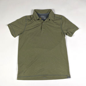 Eddie Bauer Travex Active Fit Polo Mens Size S